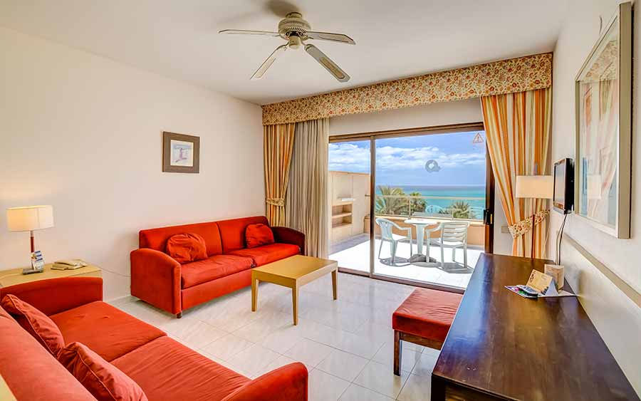 family room sea view sbh taro beach